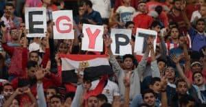 تشجيع المنتخب المصري