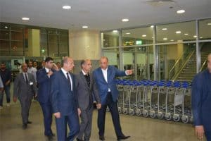 استعدادات مطار برج العرب